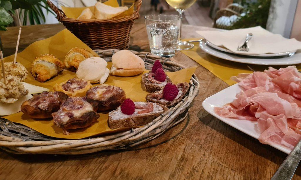 Toskana: Essen in Pescia